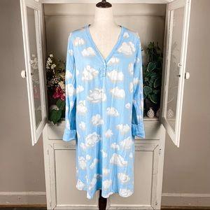 Nick & Nora Women's Long Sleeve Nightgown